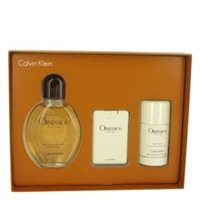 Gift Set - 4 oz Eau De Toilette Spray + .67 oz Min EDT Spray + 2.6 oz Deodorant Stick