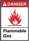 Danger Label FlammableGas