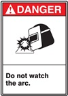 Danger Do Not Watch The Arc