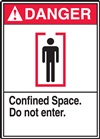 DangerConfined Space. Do Not Enter
