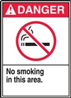DangerNo Smoking In This Area