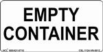 Empty Container Label | HCL Labels, Inc