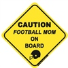 Football Mom On Board - Sticker