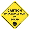 Basketball Mom On Board - Sticker