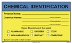 Chemical Identification Label