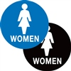 Restroom (Women) Braille Sign | HCL Labels