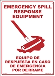 Safety Sign - EmergencySpill Response Equipment