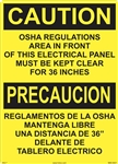 Caution Sign - OSHA Regulations