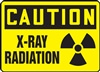 Caution Sign - X-Ray Radiation Mark