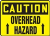 Caution Sign - Overhead Hazard