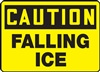 Caution Sign - Falling Ice