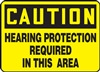 Caution Sign - Hearing Protection Required In This Area