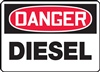 Danger Diesel Sign | HCL Labels, Inc