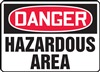 Danger Sign - Hazardous Area