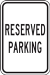Reserved Parking Sign | HCL Labels, Inc