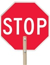 Hand Held Stop Sign | HCL