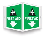 First Aid (Projecting Sign)