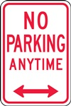 No Parking Anytime Sign | HCL