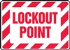 Safety Sign - Lockout Point