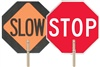 Safety Sign - Hand Held Stop/Slow  | HCL