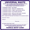 Universal Waste Labels | HCL Labels, Inc