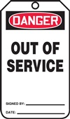 DangerOut Of Service (Tag)