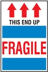 Fragile - This End Up Label | HCL Labels, Inc