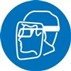 Wear Face Shield And Eye Protection
