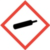 Gas Cylinder GHS Pictogram Label