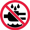 Do Not Expose To Water Safety Symbol