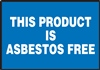 This Product Is Asbestos Free