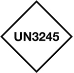 UN3245 - Genetically Modified Organisms Label
