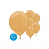 "12"" Round Pearlized Latex Balloons (10pcs)"