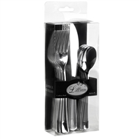 Silver 24 piece Cutlery Pack