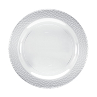 "Clear 9"" Plate (10pcs)"