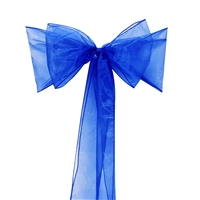 Organza Chair Sash / Bow