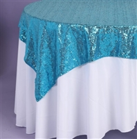 Sequin Tablecloth Overlay
