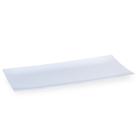 White Rectangular Condiment Tray (3pcs)
