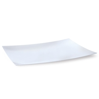 "White 12"" x 18"" Rectangular Platter (2pcs)"