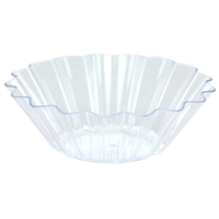 Clear Miniature Fanflair Dishes (12pcs)