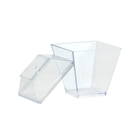 Clear Miniature Gourmet Dish (10pcs)