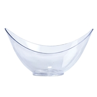 Clear Mini Oval Bowls (12pcs)