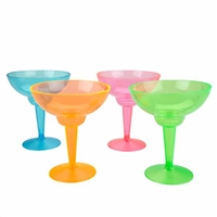 Neon Margarita Glasses