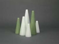 White Foam Cones