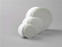 "White Foam Discs 1"" Height"