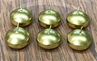 Gold Floating Candles 2""