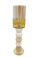 Large Gold Candle-Holder