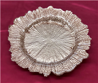 Starburst Glass Charger Plate