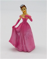 Pink Girl Figurine