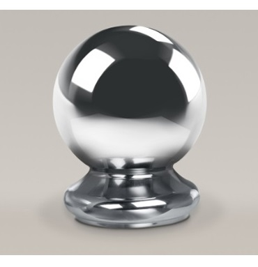 Chrome Ball Newel Cap 90mm